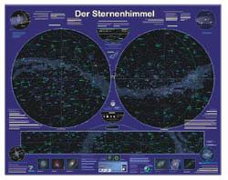 Aldi-Poster Sternenhimmel