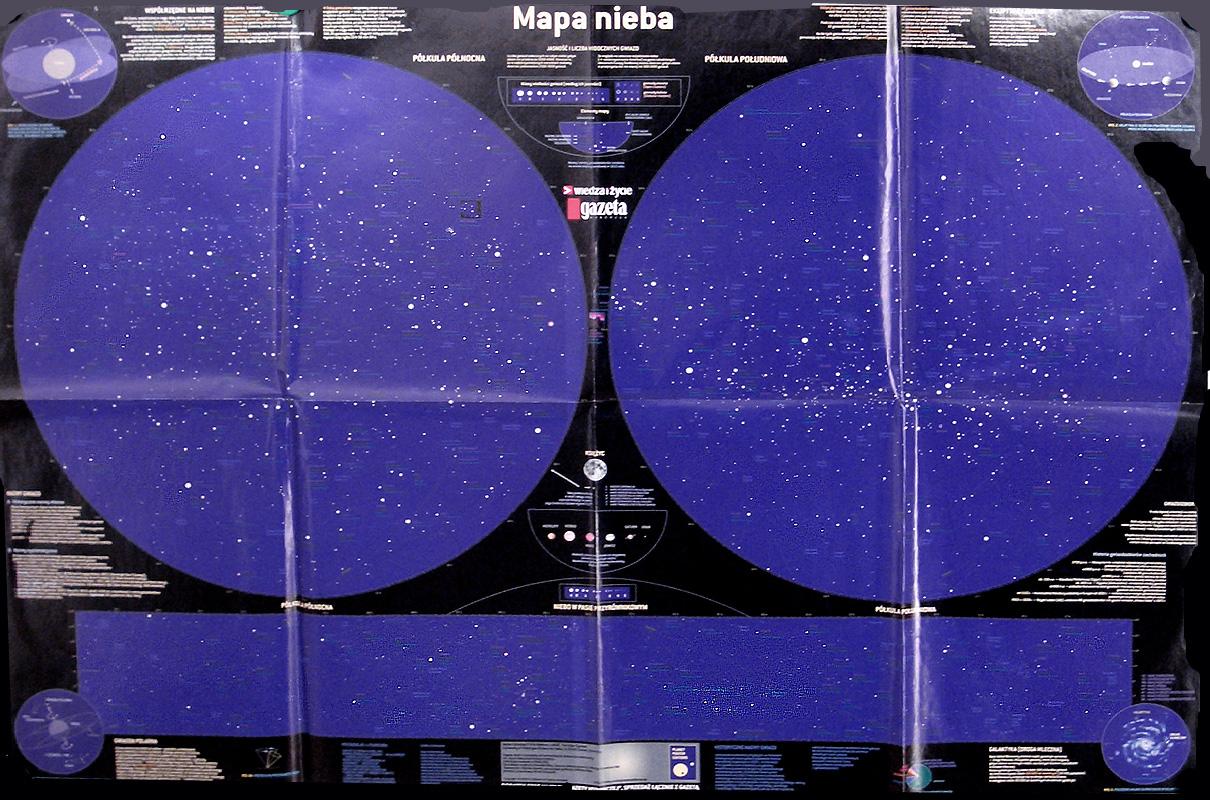 Mapa nieba (Polish poster)