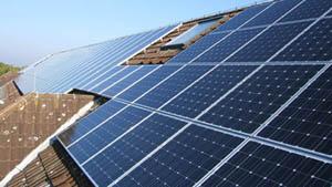 Modulreihen Photovoltaikanlage GoeTec